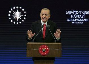 """Başkan Erdoğan'ın """"Fransız ürünlerine boykot"""" sözleri dünyada ilk haber!"""