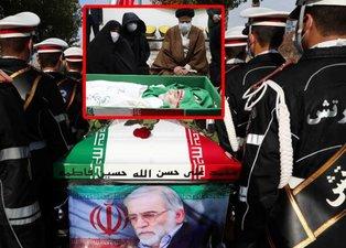 İran'ın Nükleer Babası Muhsin Fahrizade'nin cenazesinden ilk fotoğraflar geldi: Dünya bu kareleri konuşuyor! Televizyonlar canlı yayınla verdi