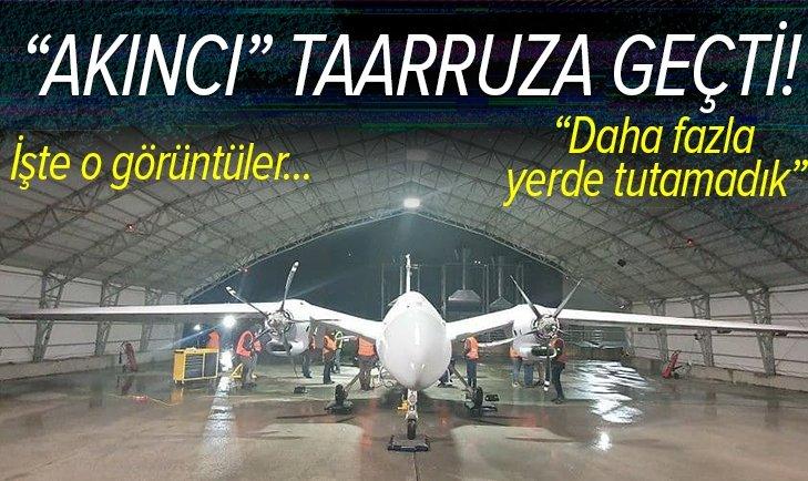 Selçuk Bayraktar duyurdu! Daha fazla yerde tutamadık AKINCI TİHA PT-3 ilk uçuşunu yaptı!
