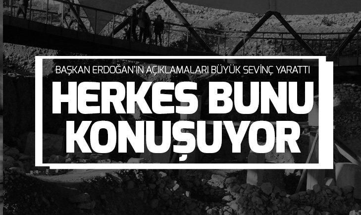 BAŞKAN ERDOĞAN DUYURMUŞTU! GÖBEKLİTEPE SEVİNCİ...