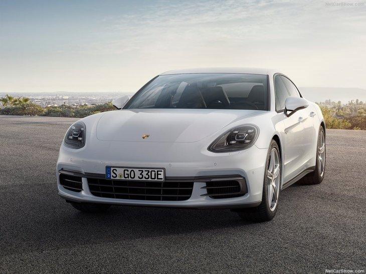 2017 Porsche Panamera 4 E-Hybrid - Galeri - A Haber on