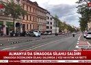 Almanya'da sinagoga silahlı saldırı: 2 ölü |Video