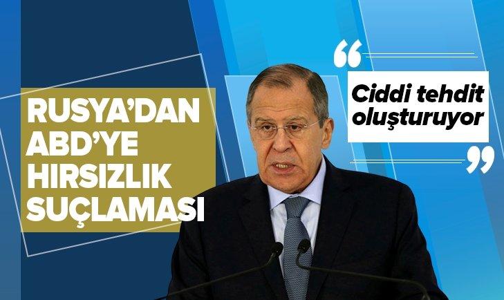 RUSYA'DAN ABD'YE 'HIRSIZLIK' SUÇLAMASI