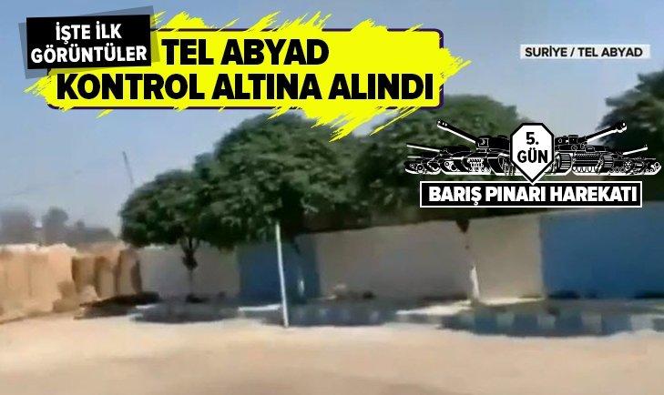 Tel Abyad'ın batısı kontrol altına alındı