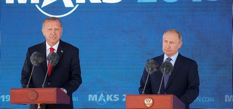 BAŞKAN ERDOĞAN'DAN RUSYA'DA ÖNEMLİ ÇAĞRI