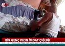 İstanbul Taksim'de öz babasının öldüresiye dövdüğü genç kız A Haber'e konuştu! |Video