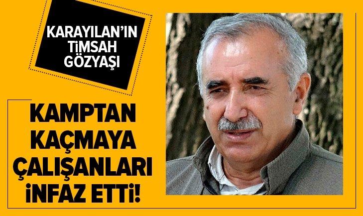 Murat Karayılan'ın timsah gözyaşı!