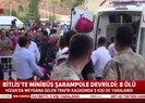 Son dakika: Bitlis Hizan'da korkunç kaza! Minibüs şarampole devrildi Olay yerinden ilk görüntüler  Video