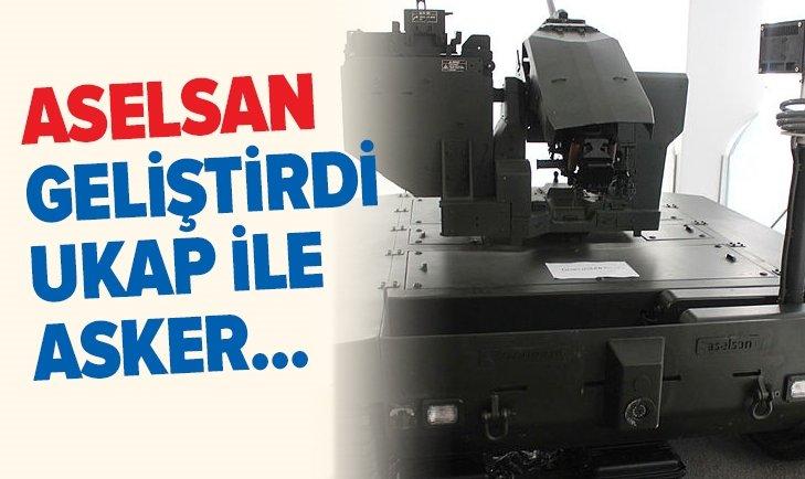 ASELSAN GELİŞTİRDİ UKAP İLE ASKERİ PERSONELİN...