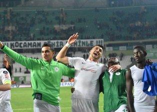 Konyaspor Kasımpaşa maçında gol düeollosu yaşandı