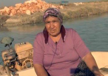 Akdeniz'in 50 yıllık kadın balıkçısı! Ailesini geçindiriyor