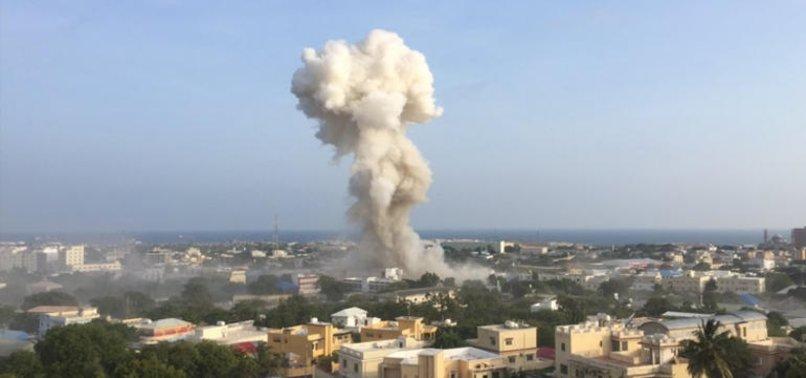 SOMALİ'DE PATLAMA