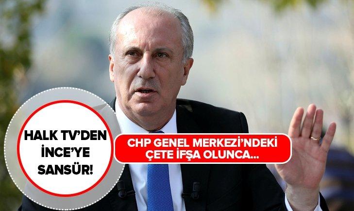 Halk TV, Muharrem İnce'nin konuşmasını yarıda kesti!