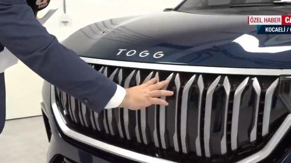 İşte yerli otomobil TOGG