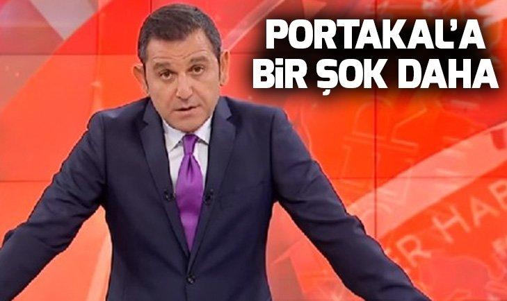 Fatih Portakala bir şok daha