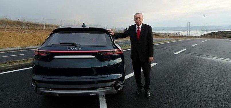 Başkan Recep Tayyip Erdoğan'ın yerli otomobilin tanıtıldığı gün ile ilgili görsel sonucu
