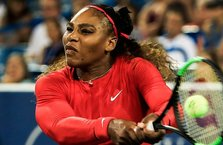 Serena Williams'tan Cincinnati'ye erken veda