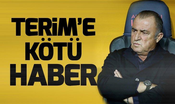 Fatih Terim'e Porto maçı öncesi kötü haber!