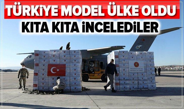 Türkiye Kovid-19'la mücadelede model ülke oldu!