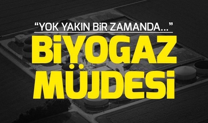 Enerji ve Tabii Kaynaklar Bakanı Fatih Dönmez'den biyogaz müjdesi