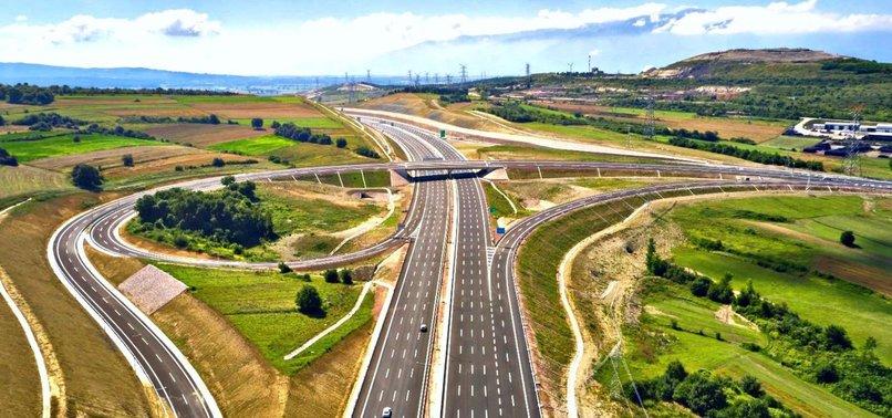 Kuzey Marmara Otoyolu'nun Gebze-İzmit Etabı açılıyor | Başkan Erdoğan  törene katılacak - A Haber Son Dakika Ekonomi Haberleri
