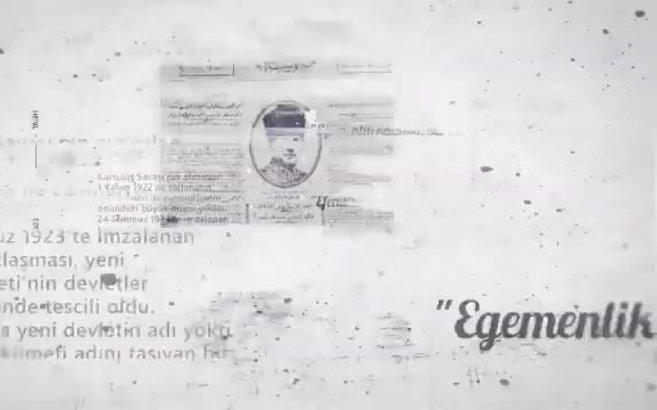 Milli Savunma Bakanlığı'ndan Cumhuriyet'in 97. yılına özel tüyleri diken diken eden klip