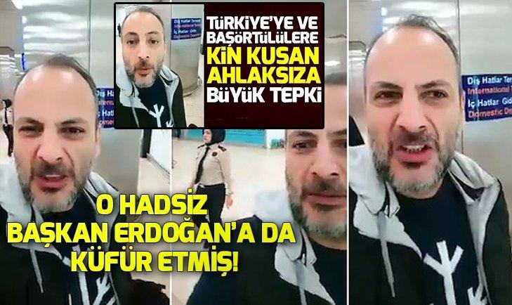 Başörtülülere hakaret eden Bülent Kökoğlu, Başkan Erdoğana küfür etti!