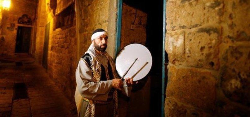İSRAİL'DE HRİSTİYAN RAMAZAN DAVULCUSU
