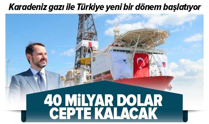 Karadeniz gazı ile yeni bir dönem başlıyor!