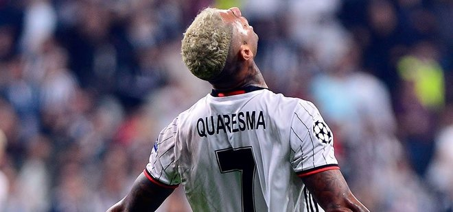 UEFA AVRUPA LİGİ'NDE QUARESMA'DAN İYİSİ YOK