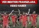Türkiye Fransa maçı sonrası stadyumda Mehter Marşı çaldı | Video