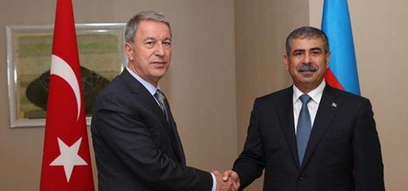 Milli Savunma Bakanı Hulusi Akar Azerbaycan Savunma Bakanı Zakir Hasanov  ile telefonda görüştü - A Haber Son Dakika Gündem Haberleri