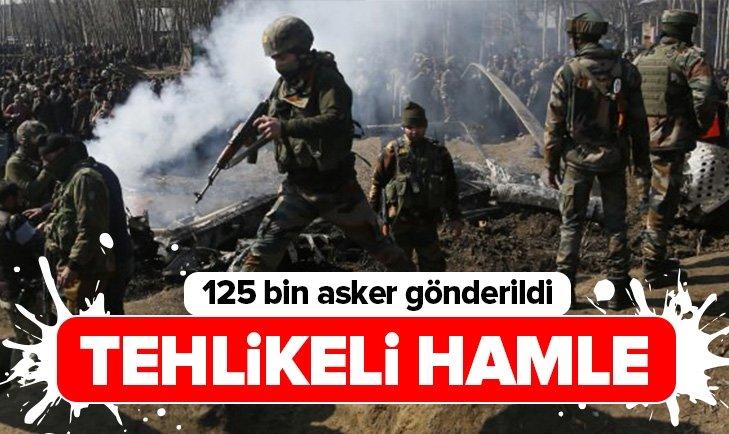 TEHLİKELİ HAMLE! SINIRA 125 BİN ASKER GÖNDERİLDİ!