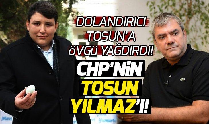 Yılmaz Özdil'den skandal açıklamalar! Dolandırıcı Tosun'a övgü yağdırdı!