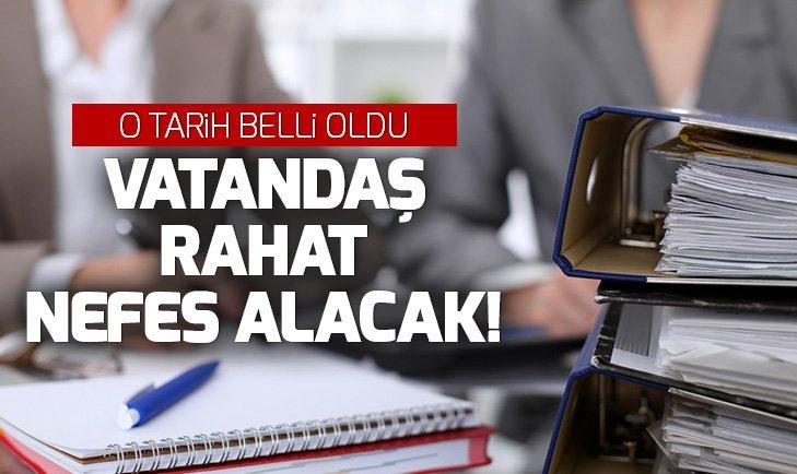 CUMHURBAŞKANI YARDIMCISI FUAT OKTAY AÇIKLADI! '2019'UN SONUNA KADAR...'