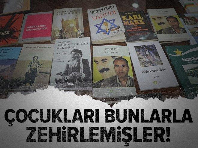 ÇOCUKLARA TERÖR ÖRGÜTÜ PKK DOKÜMANLARIYLA EĞİTİM VERİLMİŞ