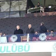 Atiker Konyaspor - Trabzonspor maçından kareler