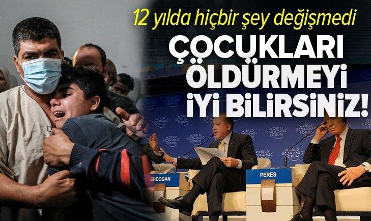 Başkan Recep Tayyip Erdoğan: Siz çocuk öldürmeyi iyi bilirsiniz