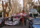 PKK yandaşları Ermeni gruplarla gösteri düzenledi