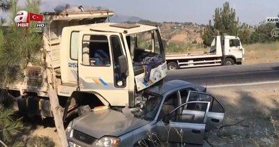 Polis memuru kazada can verdi |Video