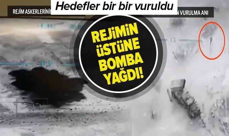 ESAD REJİMİ BOMBARDIMANA TUTULDU!
