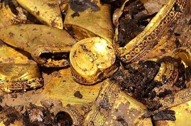 Hun kralına ait 2000 yıllık hazine bulundu!
