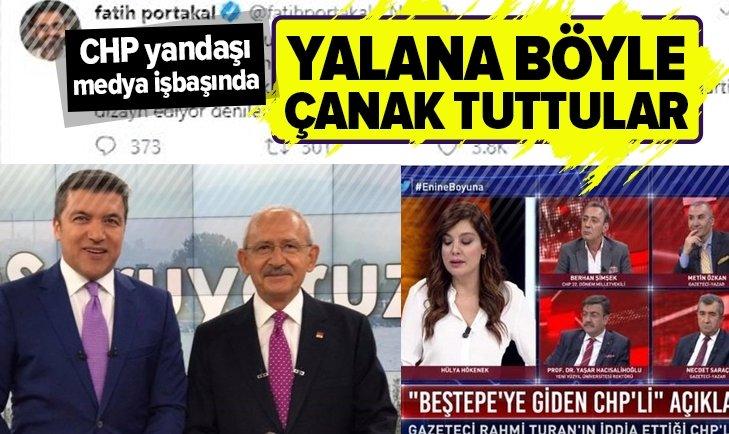 CHP yandaşı medya o yalana çanak tuttu!