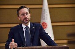 İletişim Başkanı Altun'dan Avrupa'ya sert tepki