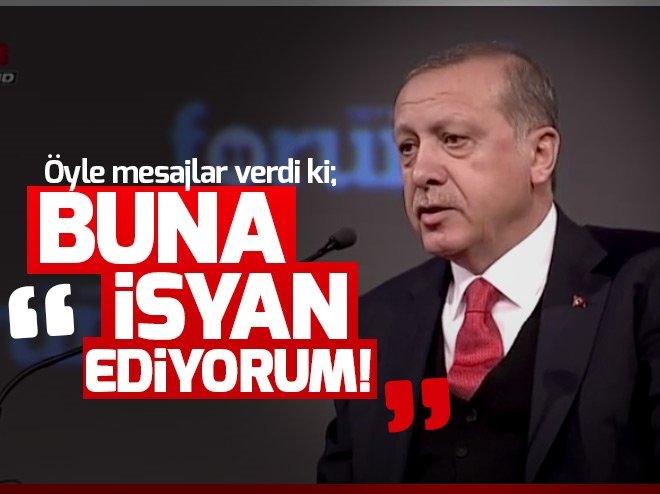 Cumhurbaşkanı Erdoğan: Kimsenin emir kulu değiliz