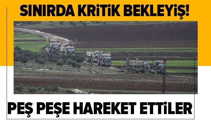 Son dakika: Türkiye-Suriye sınırında kritik bekleyiş!  TSK'dan sınır birliklerine ZPT ile komando takviyesi