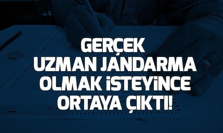 GERÇEK UZMAN JANDARMA OLMAK İSTEYİNCE ORTAYA ÇIKTI!