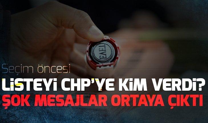 Seçim öncesi sandık kurulu başkanı ve üyelerinin listesini CHP'ye kim verdi?