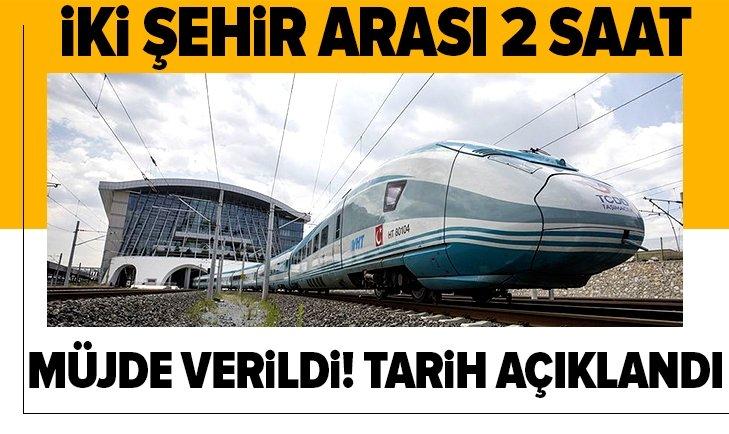 Ankara-Sivas YHT hattında sona doğru! Açılış tarihi belli oldu