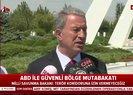 Son dakika: Bakan Hulusi Akar'dan flaş açıklama: Terör koridoruna izin vermeyeceğiz |Video